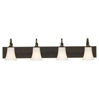 Barrington 4-Light Oil Rubbed Bronze Vanity Light