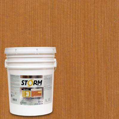 5 gal. Natural Oak Exterior Semi-Solid Dual Dispersion Wood Finish