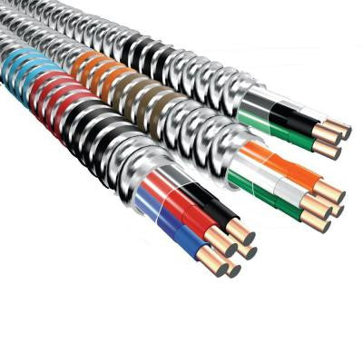 MC Lite 250 ft. 12 Gauge 3 Conductor Cable 277/480