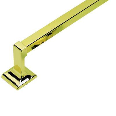 Millbridge 24 in. Towel Bar in Polished Brass