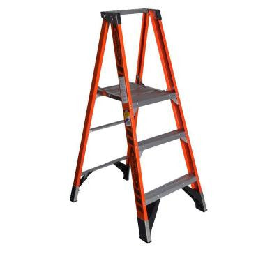 3 ft. Fiberglass Platform Step Ladder with 375 lb. Load Capacity Type IAA Duty Rating
