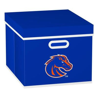 Boise State University College STACKITS 12 in. x 10-1/2 in. x 15 in. Royal Blue Fabric Storage Cube