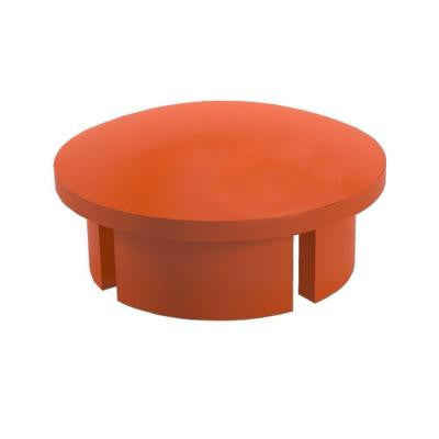 1 in. Furniture Grade PVC Sch. 40 Internal Coupling in Orange (10-Pack)