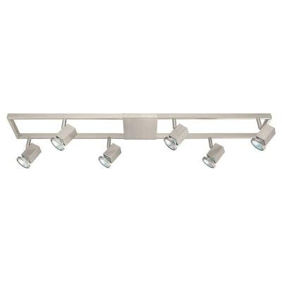 Zeraco 6-Light Satin Nickel Track Light