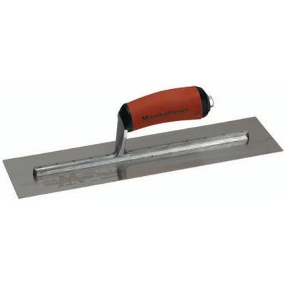 14 in. x 4-3/4 in. Curved Dura Soft Handle Finishing Trowel