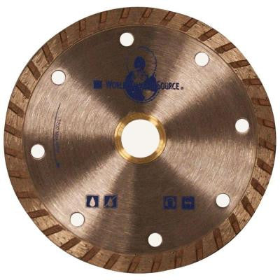 7 in. Continuous Rim DIY Dry Turbo Blade for Circular Saws