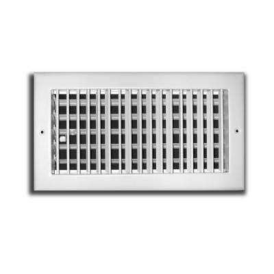 20 in. x 6 in. Adjustable 1 Way Wall/Ceiling Register