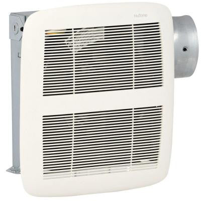 LoProfile 80 CFM Ceiling/Wall Exhaust Bath Fan with 4 in. Oval or 3 in. Round Duct, ENERGY STAR