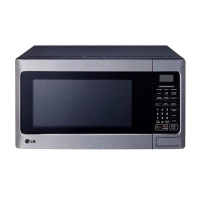 1.1 cu. ft. Countertop Microwave in Stainless Steel