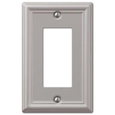 Chelsea 1 Decora Wall Plate - Nickel