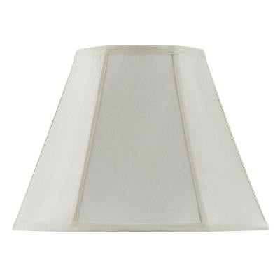 13 in. Eggshell Fabric Empire Lamp Shade