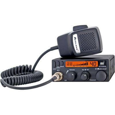 30-Mile 40 Channel Mobile CB Radio (1-Pack)