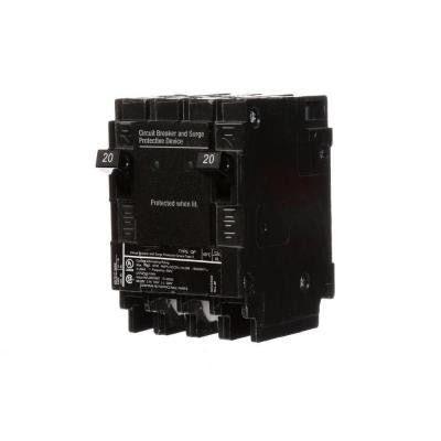 20 Amp 6.5 in. Whole House Surge Protected-Circuit Breaker