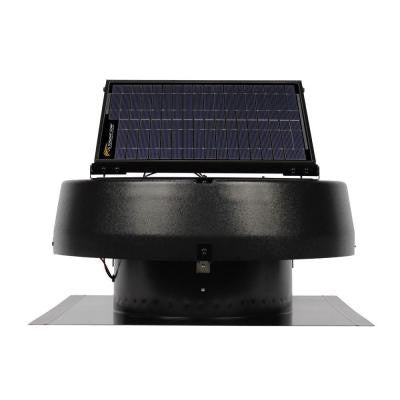 Professional Series 30 Watt Solar-Powered Roof Attic Fan