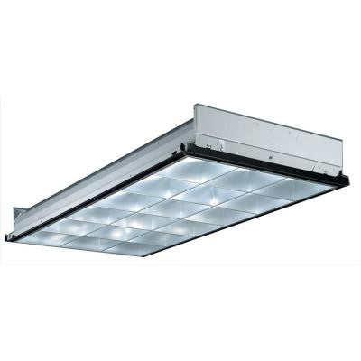 3-Light Fluorescent Contractor Select Parabolic Troffer
