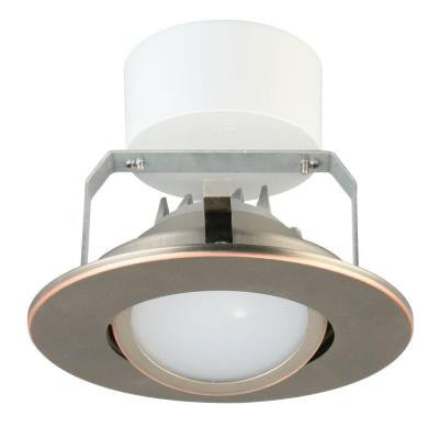 4 in. Oil Rubbed Bronze Recessed Downlighting Module