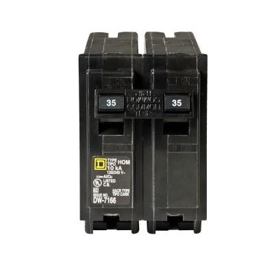 Homeline 35 Amp 2-Pole Circuit Breaker
