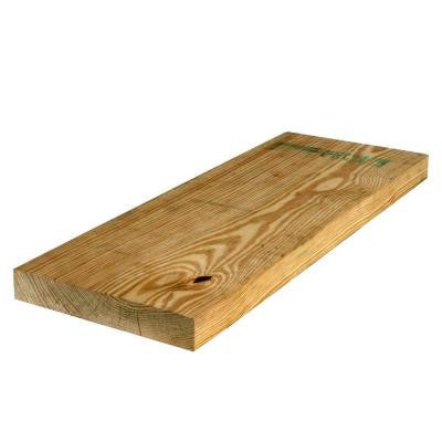 2 in. x 10 in. x 10 ft. #2 Prime Pressure-Treated Lumber