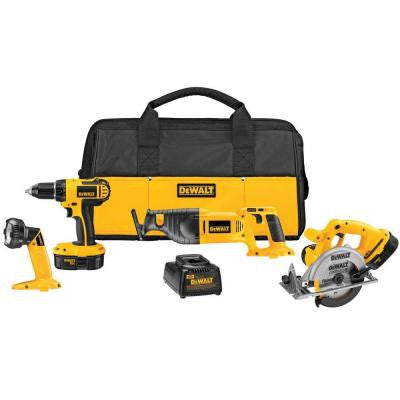 18-Volt NiCad Cordless Combo Kit (4-Tool)