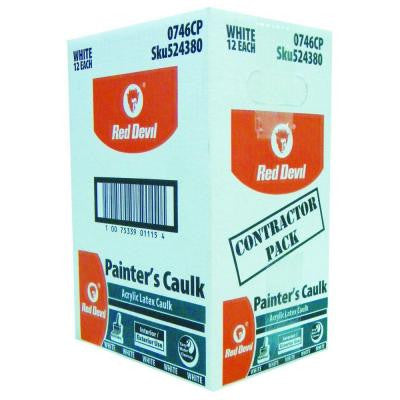 10.1 oz. Painter's Caulk- Carton of 12