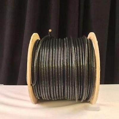 500 ft. 2 Stranded THHN Single Conductor Electrical Wire - Black