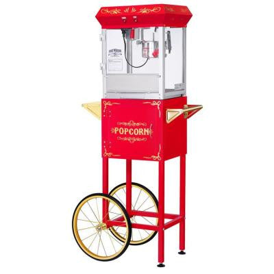 All-Star GNP-400 4 oz. Red Popcorn Machine & Cart