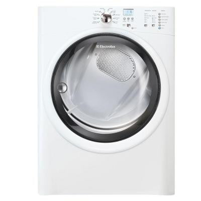 IQ-Touch 8.0 cu. ft. Electric Dryer in White