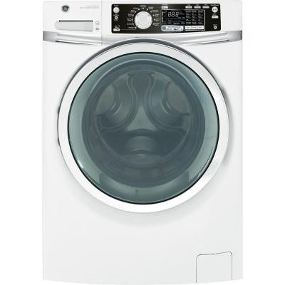 4.5 DOE cu. ft. Front Load Washer with Steam in White, Plus ENERGY STAR