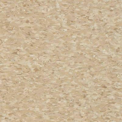 Civic Square VCT Stone Tan Commercial Vinyl Tiles - 6 in. x 6 in. Take Home Sample