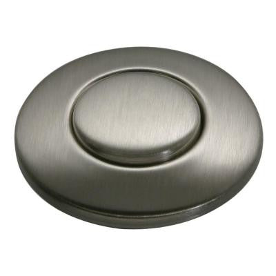 SinkTop Switch Button in Satin Nickel