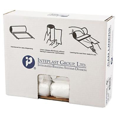 10 gal. Clear High-Density Can Liner (50-Rolls)