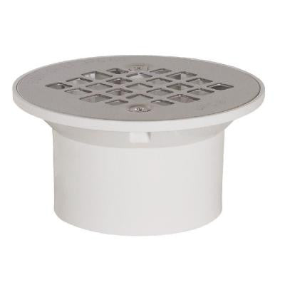 2 in. x 3 in. PVC General Purpose Drain