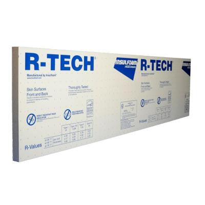 2 in. x 2 ft. x 8 ft. R-7.7 Foam Insulating Sheathing