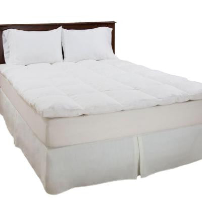 Twin Size 2 in. H 100% Duck Feather Mattress Topper