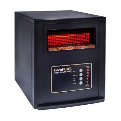 CopperSMART 1500-Watt 5000 BTU with Copper PTC Infrared Electric Portable Heater and Remote Control