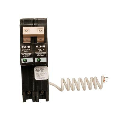 Type CH 50 Amp Double-Pole Surge Breaker