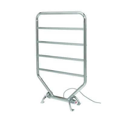 Traditional 34 in. Towel Warmer in Satin Nickel