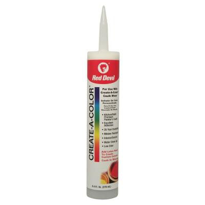 9.4 oz. Create-A-Color Multi-Purpose Caulk