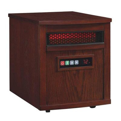 1500-Watt Electric Infrared Quartz Heater - Cherry