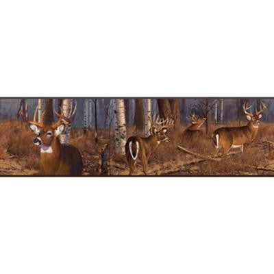 6 in. Deer Wallpaper Border