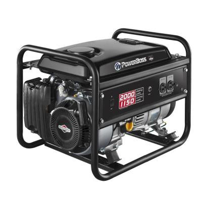 1,150-Watt Gasoline Powered Recoil Start Portable Generator with Briggs & Stratton Engine