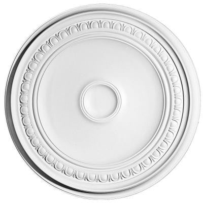 European Collection 24-7/16 in. x 1-3/4 in. Egg and Dart Polyurethane Ceiling Medallion