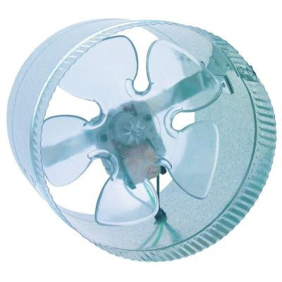 Inductor 8 in. In-Line Duct Booster Fan