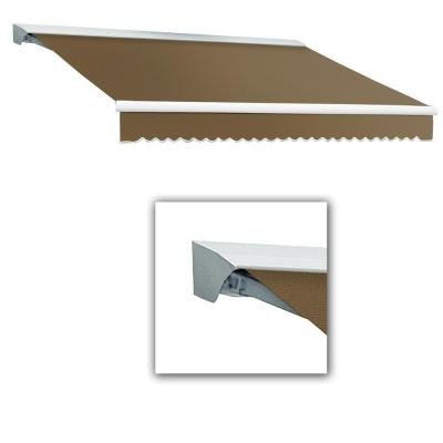 20 ft. Destin with Hood AT Model Right Motor Retractable Awning (20 ft. W x 10 ft. D) in Linen