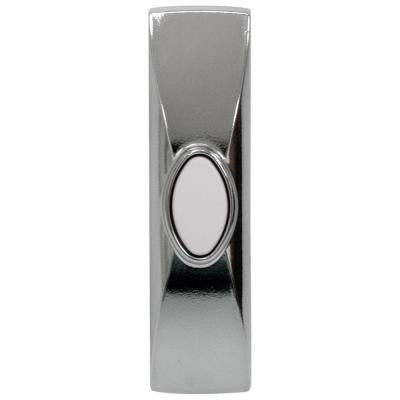 Direct Wire Push Button in Brushed Nickel finish