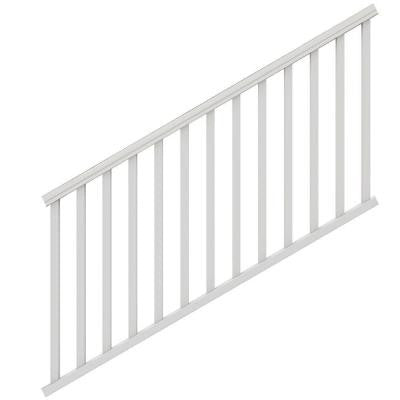 6 ft. x 36 in. White Traditional Stair Kit