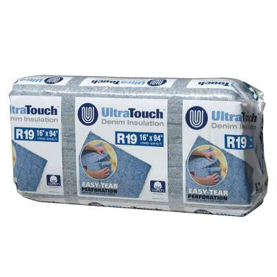16.25 in. x 94 in. R19 Denim Insulation (12-Bags)