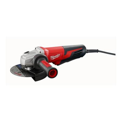 13-Amp 6 in. Small Angle Grinder with Paddle Switch