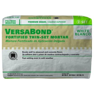 VersaBond White 50 lb. Fortified Thin-Set Mortar