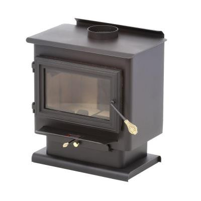 1,800 sq. ft. Wood-Burning Stove